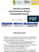Introducción Al Análisis Instrumental de Textura (2012)