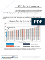2015 MNsure Rate Release Packet