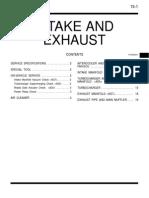 Manual Pajero 4x4 Intake and Exhaust
