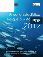 Anuario Estadistico Pesca 2012