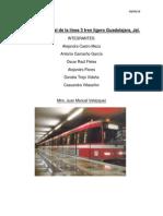 estructura social de la lnea 3 tren ligero guadalajara
