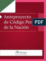 227876360 Anteproyecto Codigo Penal PDF