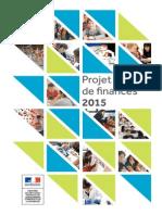 PLF 2015 Budget Education Nationale et de l'Enseignement supérieur