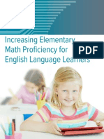 Wp Increasing Elementary Math Proficiency for Ell