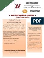 EMT Refresher Flyer (2)