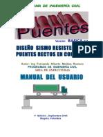 Manual Modulo Puentes de Concreto