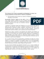 25-08-2011 Guillermo Padrés inauguró dos nuevos Cecytes, en la colonia Pueblitos y en San Pedro el Saucito. B0811111