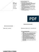 Geometric Constructions Foldable I