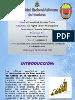 POLITICA COMERCIAL DE HONDURAS LUCIA ISABEL FLORES.pptx