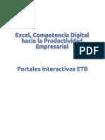 Excel, competencia digital hacia la productividad empresarial.pdf