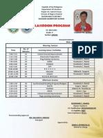 classroom program rosemarie