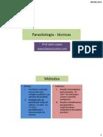 Parasitologia - técnicas.pdf