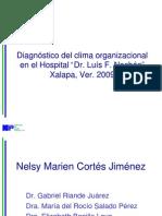 Clima organizacional nueva 25 junio 2010.ppt