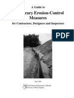 A Guide to Temporary Erosion Control Measures