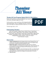 Theater All Year Program