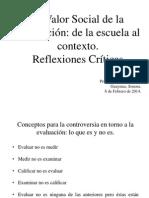 Conferencias. El Valor Social de la Evaluación..pptx