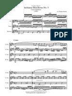 Bachianas No5 -Sax Quartet