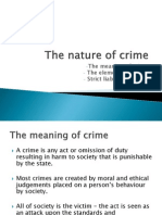 lesson 1 - nature and elements of crime