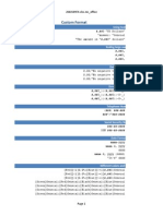 Blank Number Formats