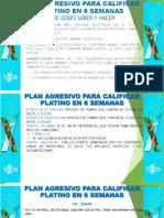 PLAN AGRESIVO PARA CALIFICAR PLATINO EN 6 SEMANAS.pptx