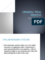 lesson 12 - adversary system and legal personnel