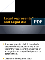 lesson 14 - legal representation and legal aid