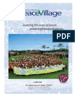 Peace Village 4 - Report on Peace Ed Initiative_deped Lanao Norte