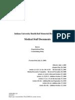Ball Medical Staff Bylaws