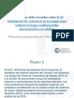 Prevention Guidelines - Cholesterol.en.es.pptx