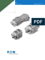 Vickers Vane Pumps V Series - Low Noise Vane Pumps