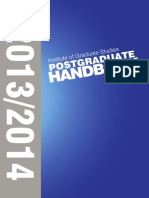 Postgraduate Handbook