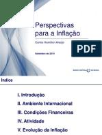 Relatório de Inflação - Setembro de 2014