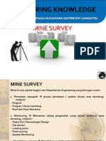 Sharing Knowledge - Mine Survey OPSI 1