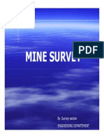 Mine Survey-survey pertambangan