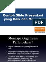 Contoh Slide Presentasi Yang Baik Dan Menarik