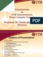 Utm International Kl General Presentation 2014