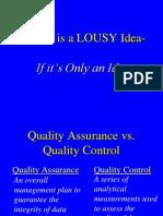 Quality Assurancel