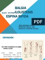 lumbalgia, espondi, espina bifida.ppt
