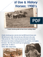 Free Roaming Horses Powerpoint