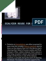 Dialyzer Reuse for Dialysis PPT