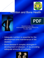 Nutrition and Bone Health