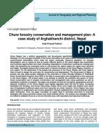 pasture management of chure range