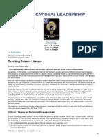 educational leadership article