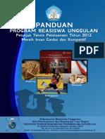 Panduan Beasiswa Unggulan 2012