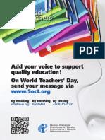 World Teachers' Day 2014