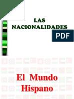 Nacionalidades-el Mundo Hispano