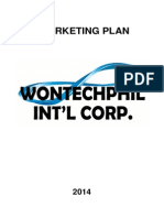 Wontech Marketing Plan