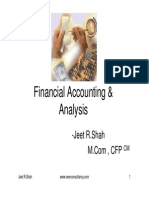 Basic of Financial Accounting