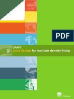 Draft Good Design for Medium Density Living for WEB