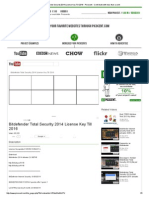 Bitdefender Total Security 2014 License Key Till 2016 - Picocent - Contribute with less than a cent.pdf